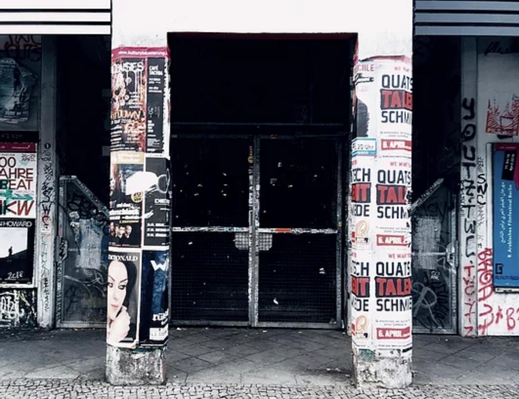 Entrance to Workspace, Paloma Bar
